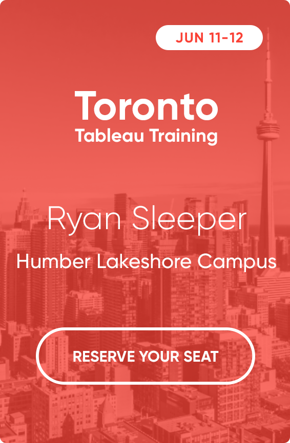 Toronto Tableau Training with Ryan Sleeper June 11-12 2019@2x
